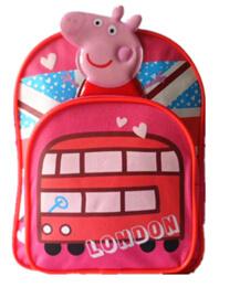 Hotsale 600d Peppa Kindergarten Kids School Bag Backpack pictures & photos