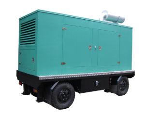 Cummins Engine Diesel Generator Moving Trailer 250kVA pictures & photos