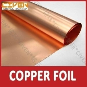 Copper Foil for Copper Flexible Connector with High Precision