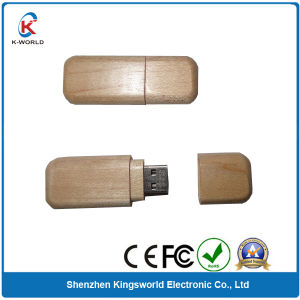 8GB Bamboo USB Stick