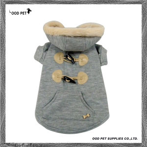 Grey Fur Dog Hoodie Warm Winter Dog Coats Spj6021-2 pictures & photos