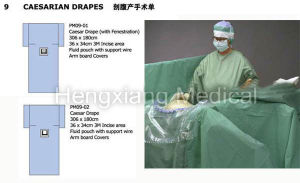 Caesarean Operation Surgical Drape (SD-07) pictures & photos