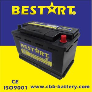 12V80ah Premium Quality Bestart Mf Vehicle Battery DIN 58014-Mf pictures & photos