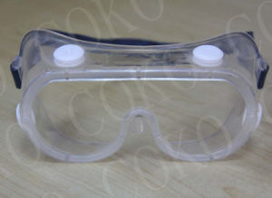 En166 Approved From Germany PVC Frame Safety Goggles pictures & photos