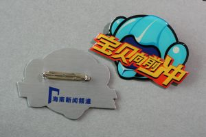 Custom Offset Printed Badge (GZHY-YS-037) pictures & photos