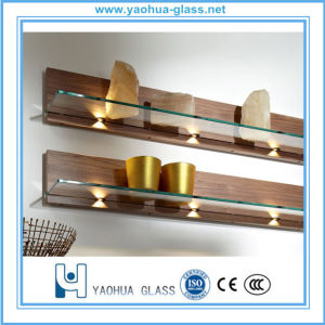 3-12mm Tempered/Toughened Glass for Refrigerator Door and Shelf with CE