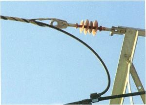 Helical Guy String Grip for Opgw Cabling