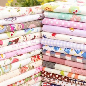 Printed Cotton/Poly Fabric pictures & photos