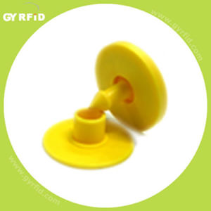 134.2KHz RFID Ear Tag for Animal Tracking pictures & photos