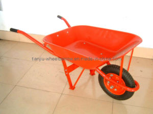 Steel Tray and Handle with Steel Rim Wheelbarrow (WB6201A) pictures & photos