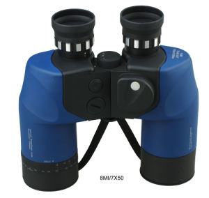 7X50 Long Eye Relief Binocular with Compass and Reticle (8MI/7X50) pictures & photos