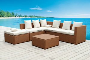 Outsunny Sectional Outdoor Patio Rattan Sofa