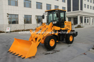 70HP 0.55m3 1.5 Ton Small Loader, Mini Wheel Loader pictures & photos