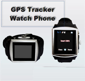 Quad Band Watch Mobile Phone With GPS (CXD-G9)