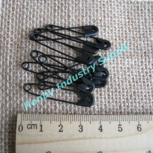 Metal Black Color Safety Pin for Garment Hanging Tags/Labels (H0223A) pictures & photos