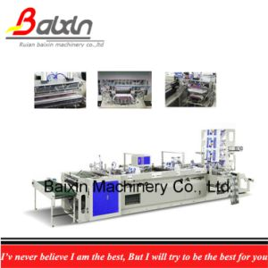 Die Cut, Patch Handle, Soft Loop Handle Bag Making Machine pictures & photos