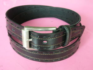 Men Jeans Leather Belts (P1100775)