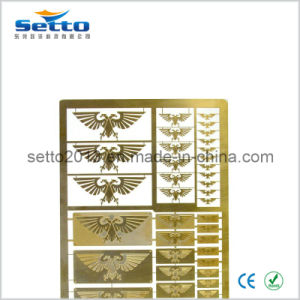 Custom Photo Etched Brass Sheets (ETCH-BR01)