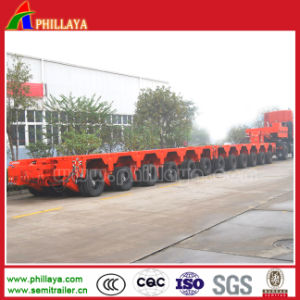 Transport Large Machine Modular Heavy Load Trailer pictures & photos