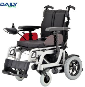 Al Frame Folding Comfortable Power Wheelchair with Different Seat Size pictures & photos