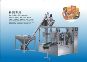 Rotary Type Pre-Made Pouch Packing Machine (JL6-300P)