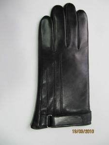 Gent Fashion Leather Gloves (JYG-21008) pictures & photos