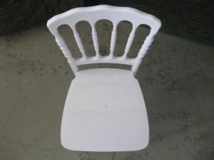 Durable Polycarbonate White Resin Napoleon Wedding Chair pictures & photos