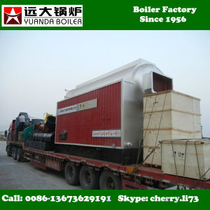 2016 Hot Selling Double Drums High Efficency Wood Pellet Steam Boiler pictures & photos