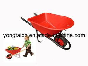 Children Plastic Wheelbarrow for Kids (WB0200) pictures & photos