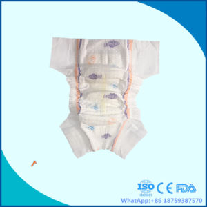 Disposable Diaper with Big Elastic Waist Band and Ultra Thin Core pictures & photos