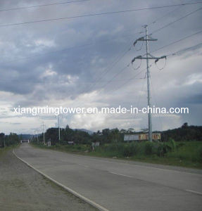 Transmission Tower Galvanized Steel Pole