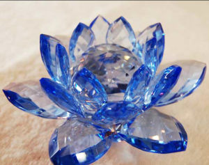 Colored Crystal Lotus for Wedding