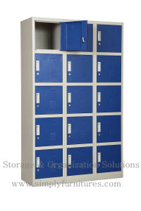 China Metal Closet Wardrobe with Lock pictures & photos