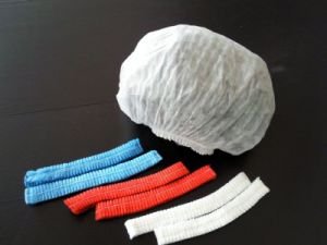 Nonwoven Clip Cap, Disposable Clip Cap, Mob Cap pictures & photos