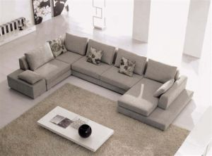 Modern U Shape Sofa for Living Room (F832) pictures & photos