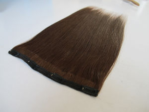 European Straight Human Remy Hair Clip in Extensions Hhci14 pictures & photos