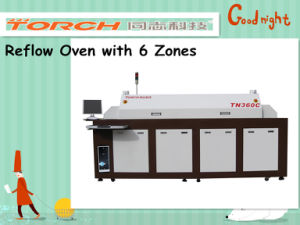 Full Hot Air Lead-Free Reflow Oven with Eight Heating-Zones pictures & photos