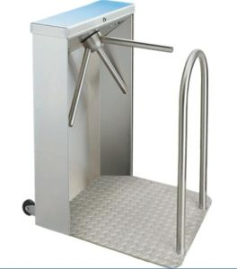 Y109 304 Stainless Steel Outdoor Tripod Turnstile for Supermarket