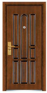 Brand New Models Armored Steel Wooden Exterior Door pictures & photos