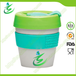 8 Oz Wholesale PP Coffee Cup with Cover, BPA-Free pictures & photos