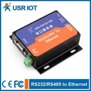 Serial RS232/ RS485 to TCP/IP/ Ethernet Converter (USR-TCP232-300)