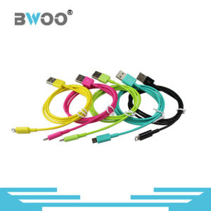 Colorful Charging Lightning Micro USB Data Cable Mobile Phone Cable pictures & photos