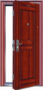 Steel Security Door (JC-001) pictures & photos