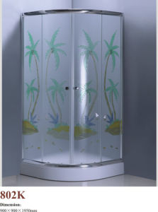 CE ISO9001: 2000 Colorful Shower Enclosure 802K pictures & photos