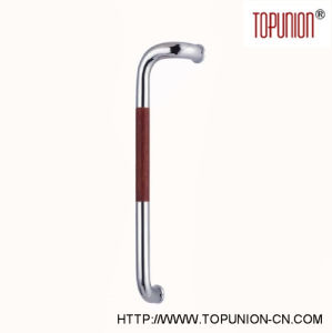 Good Quality Stainless Steel Door Wooden Pull Handle (TU-336S) pictures & photos
