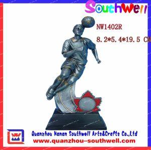 Resin Soccer Trophy Awards, Soccer Player Figurine (1402R)