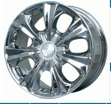 High Quality Bright Car Alloy Wheels Hub (VH801) pictures & photos