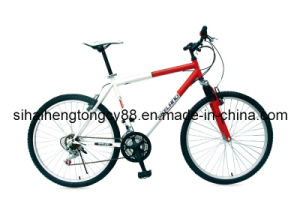Steel Mountain Bicycle with Suspension Fork MTB-031 pictures & photos