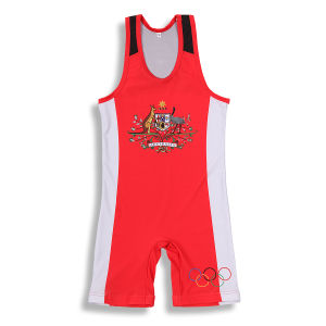 2017 Russian Cheap Custom Wrestling Singlets for Sale