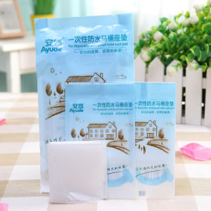 Disposable Waterproof Toilet Seat Cover for Traveling and Hotel pictures & photos